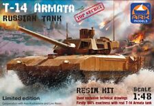 ARK MODELS 48099 RUSSIAN TANK T-14 ARMATA LIMITED EDITION 1/48 RESIN PARTS