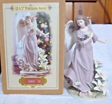 Grandeur Noel Collector's Edition 2003 Porcelain Angel 12 1/2""