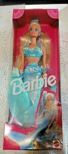 1991 Mermaid BARBIE Hair Changes to Rainbow Colors NIB