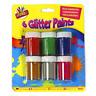 Kids Glitter Paints Set | 6 Childrens Art & Craft Painting Pots | Fun Colours