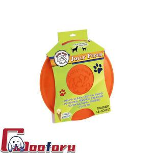 🐶Jolly Pet🐶Jolly Flyer Floating & Flying Dog Toy Orange