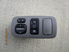 04 - 10 TOYOTA SIENNA XLE 3.3L V6 MPI 5D WAGON DASH MIRROR CONTROL SWITCH