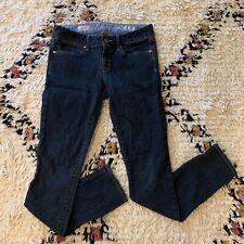 Gap Women's Always Skinny Dark Denim Jeans Size 27 / 4r Skinny Leg