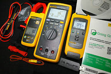 Fluke 3000 FC HVAC System Wireless Multimeter Kit W/ a3000 AC Clamp t3000 Temp