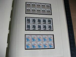 Bund Album ZD, Rand + Einheiten Dauerserien Postfrisch** + Gest.