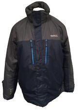 Mens REGATTA Blue Grey Waterproof Jacket Coat Isotex 5000 Size X-Large EUR56