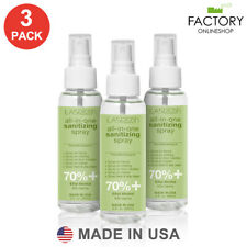 3 Pack Hand Sanitizer Spray 90ml 3 Oz 70% Alcohol Kills 99% Germs+Aloe+Vitamin E