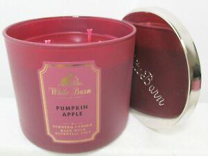 Bath & Body Works PUMPKIN APPLE 3 Wick Candle 14.5 oz