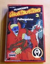 Filmations Ghostbusters cásete mc episodio 3-malignos