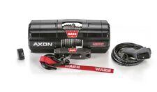 """Warn AXON 45RC Powersports 4500 lb Winch 27' 1/4"""" Synthetic Line 101240"""