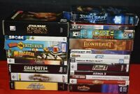 PC DVD & Game Bundle big box lot 8 pounds of videogames