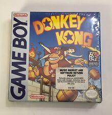 Donkey Kong Nintendo Game boy Gameboy CIB Complete BRAND NEW SEALED