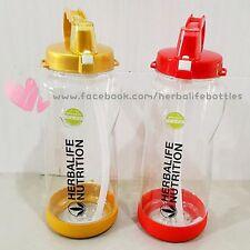 Herbalife Drinking Bottles 1 Liter Gold (c/w Straw)