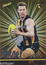 2016 Select Footy Stars Excel Parallel (EP120) Sam MITCHELL Hawthorn