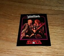 Judas Priest Vintage Trading Card 1991 Heavy Metal Rob Halford Ian Hill Rock old