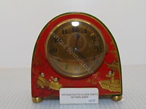 EXCEPTIONAL ART DECO BULLE CLOCK CHINOISERIE