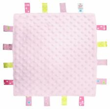 Baby comforter taglet blankie Pink