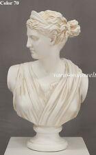 Büste Büsten Helena Frau Statue Madame Figur Skulptur 2018 /Material : Stuckgips