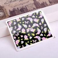 New 1X Nail tip Art stickers transfer Wrap Decals Soft  Flower Manicure Hot Sale
