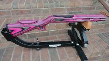 Ruger 10/22 Trailblazer Pink Camo Stock For 920 Barrels Free Ship With Studs 767