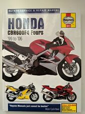 Honda CBR600F4 Service and Repair Manual: 1999 to 2006 (Haynes Service and Repai
