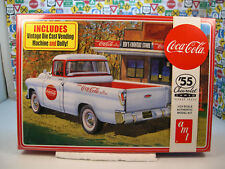 1955 CHEVROLET CAMEO TRUCK AMT 1:25 SCALE PLASTIC MODEL KIT
