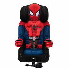 KidsEmbrace Marvel Spider Man Combination 5 Point Harness Latch Booster Car Seat