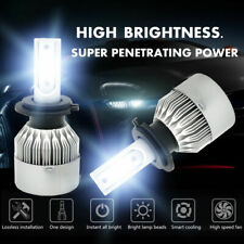 H7 LED Headlight Bulbs Conversion Kit High/Low Beam 390000LM 6000K White 2600W