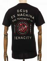 Deus Ex Machina Biarritz Address Tee - Black