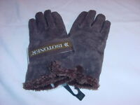 NWT - Isotoner Gloves - Brown Women's Size Large