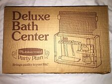 Vintage Rubbermaid Party Plan Deluxe Bath Center Toothbrush Holder Storage