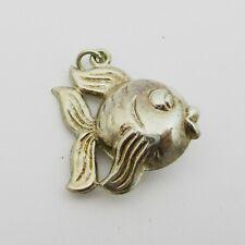Nice Silver Fish Charm.