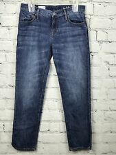 GAP 1969 SEXY BOYFRIEND Womens Jeans Dark Wash Denim Blue Cotton Sz 25 W29 x L28