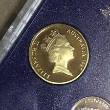 1987 $1 Proof Coin in 2 x 2 Excellent coin