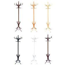 Coat Stand Coat/Hat/Jacket/Umbrella Floor Standing Rack Clothes Hanger Hooks