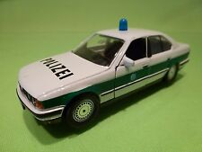SCHABAK 1150 BMW 535i E34 - POLICE POLIZEI - WHITE 1:43 RARE - GOOD