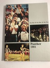 1981 Panther Mountain Grove High School Yearbook Go For It Missouri Vintage