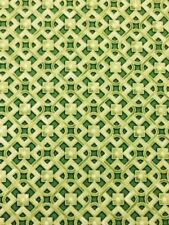 Robert Kaufman 'Grand Majolica' in Green 100% Cotton fabric by the half metre