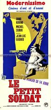 Le Petit Soldat R1970 dir: Godard Italian locandina