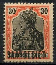 Saar Used Postage German & Colonies Stamps