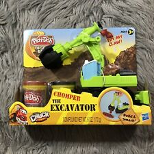 Play-Doh Diggin' Rigs Tonka Chuck and Friends Chomper The Excavator Playset 3+