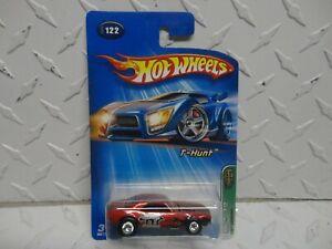 2005 Hot Wheels Treasure Hunt #122 Red 1967 Chevy Camaro w/Black Real Riders