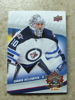 16-17 UD Tim Horton's Heritage Classic Rookie RC #JETS-4 CONNOR HELLEBUYCK