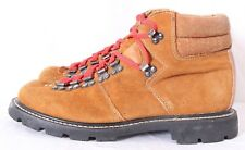 Sears Mount Blanc Vintage Tan Suede 7-Eye Mountaineering Ankle Boot Men's US 10