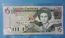 2003 East Caribbean Antigua $5 <P-42a> GEM UNC