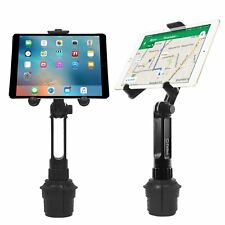 "Tablet Car Mount Holder iPad4/3/2 Adjustable Base Holds Tablets Up To 9.7"" Width"