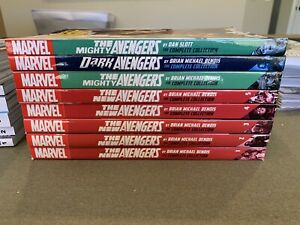 Marvel New Mighty Dark Avengers Bendis Complete Collection TP Complete Lot