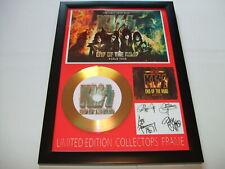 KIZZ    SIGNED  GOLD CD  DISC 08