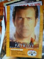 THE PATRIOT  1 SHEET MOVIE POSTER VIDEO STORE EDITION