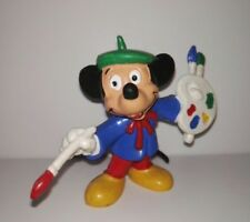 Figure Mickey Mouse painter/pintor PVC Bullyland